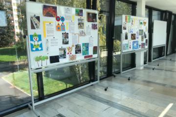 Výstava činností dětí – poliklinika Lesná